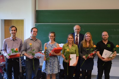Prize winners of the MNF Förderverein.