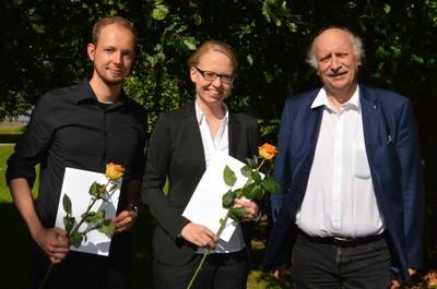 Dr. Julian Linshöft, Dr. Julia Bahrenburg and Prof. Dr. J. Grotemeyer